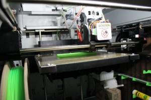 printing pla on gluestick
