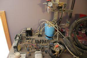 homemade plasmacutter i purchased off ebay for $400 dollars.