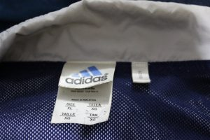 says polyester lining with nylon layer